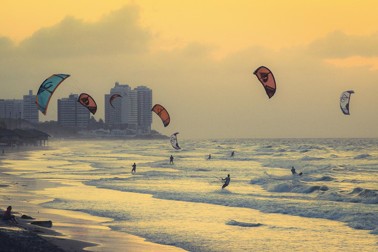 Campeonato de Kite Surf