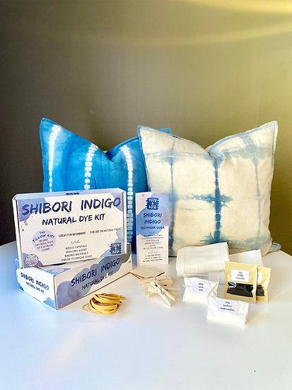 Shibori Indigo PILLOW Kit