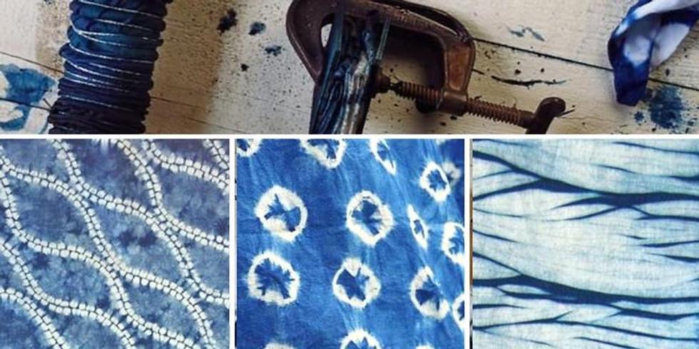 Advanced Shibori Indigo Dye Workshop