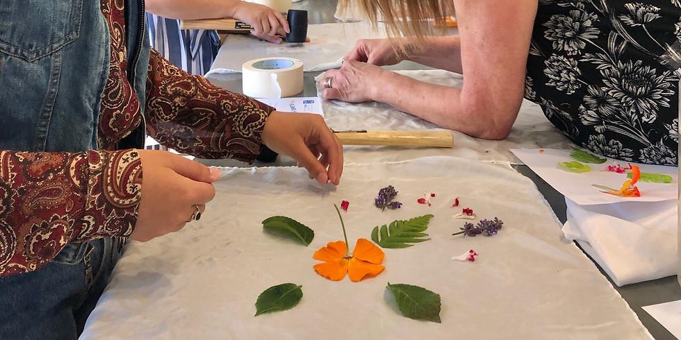 Creative Wellness with Botanical Mandalas