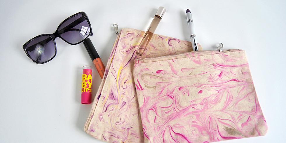 TEEN CLASS Fabric Marbling