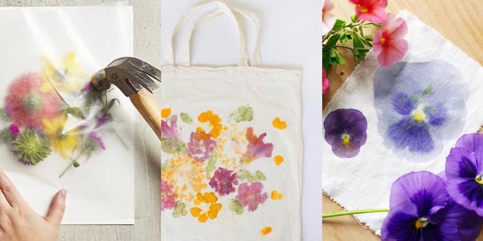 Wildflower Hammering - Tote Bag