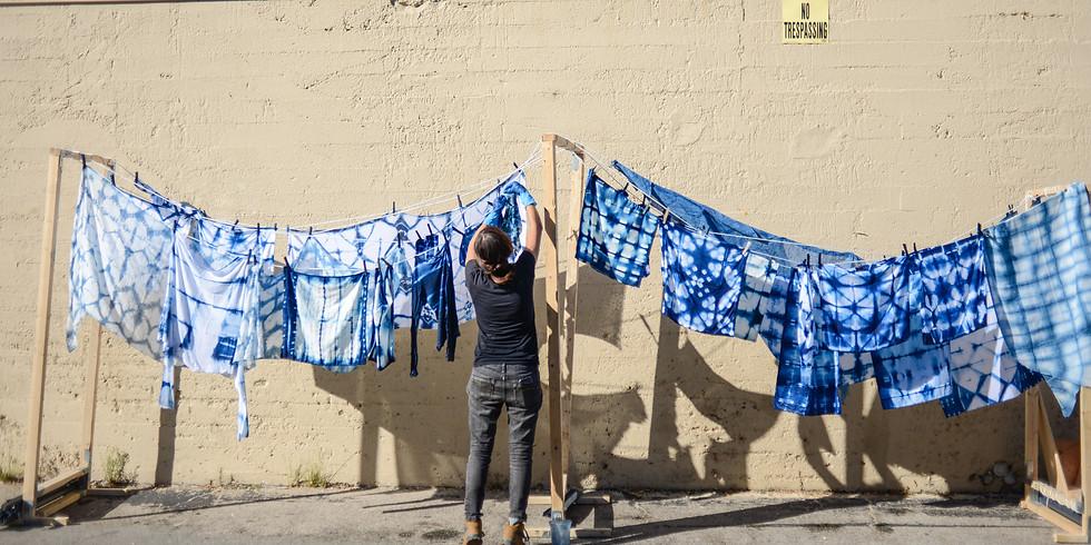 Shibori Indigo Dye Workshop