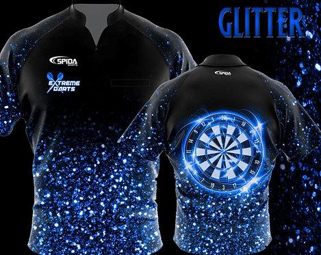 Glitter Jersey Blue