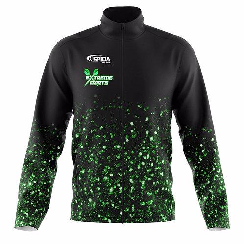 Glitter Soft Shell Jacket Green