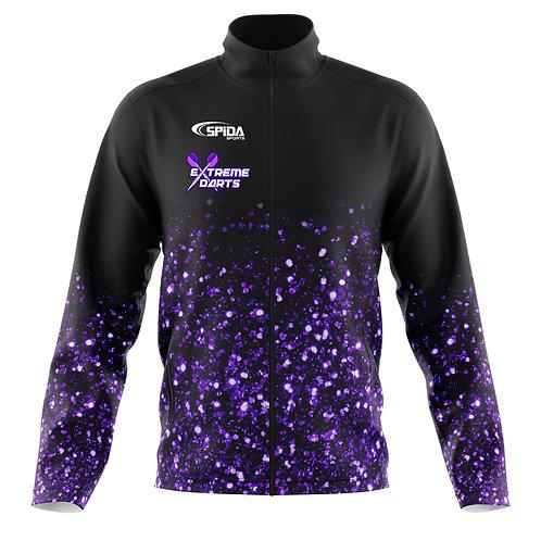 Glitter Soft Shell Jacket Purple
