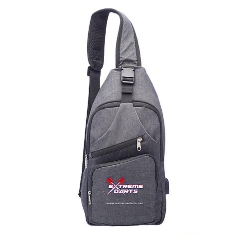 Travel Shoulder Bag with USB Charging Port
