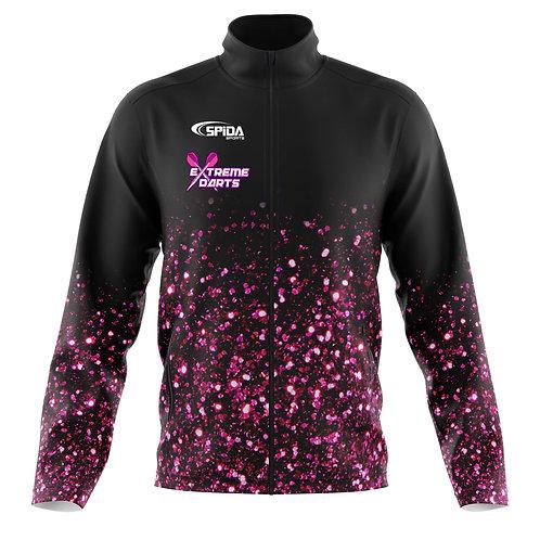Glitter Soft Shell Jacket Pink