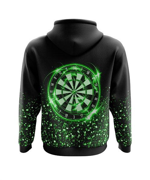 Glitter Hoodie Green