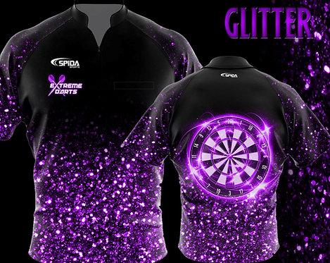 Glitter Jersey Purple