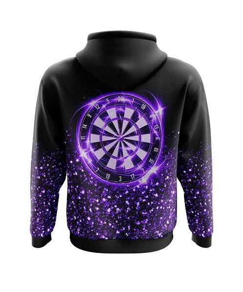 Glitter Hoodie Purple