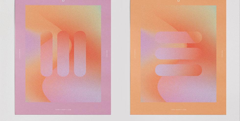 Twins Print - Set of 2