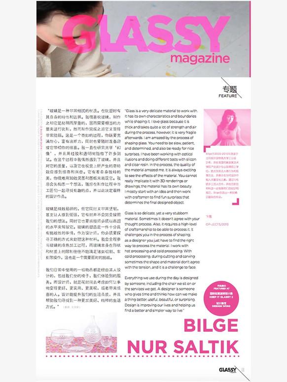 GLASSY magazine