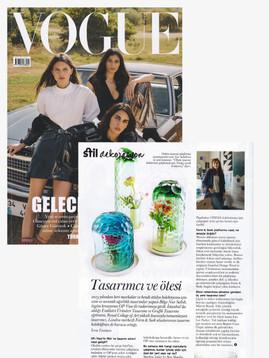 Vogue Turkey August 2018