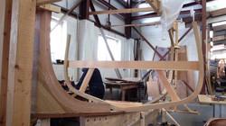 College workboat backbone and frames
