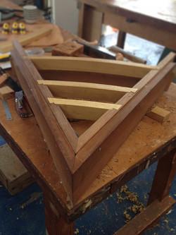 Deck beam dovetails