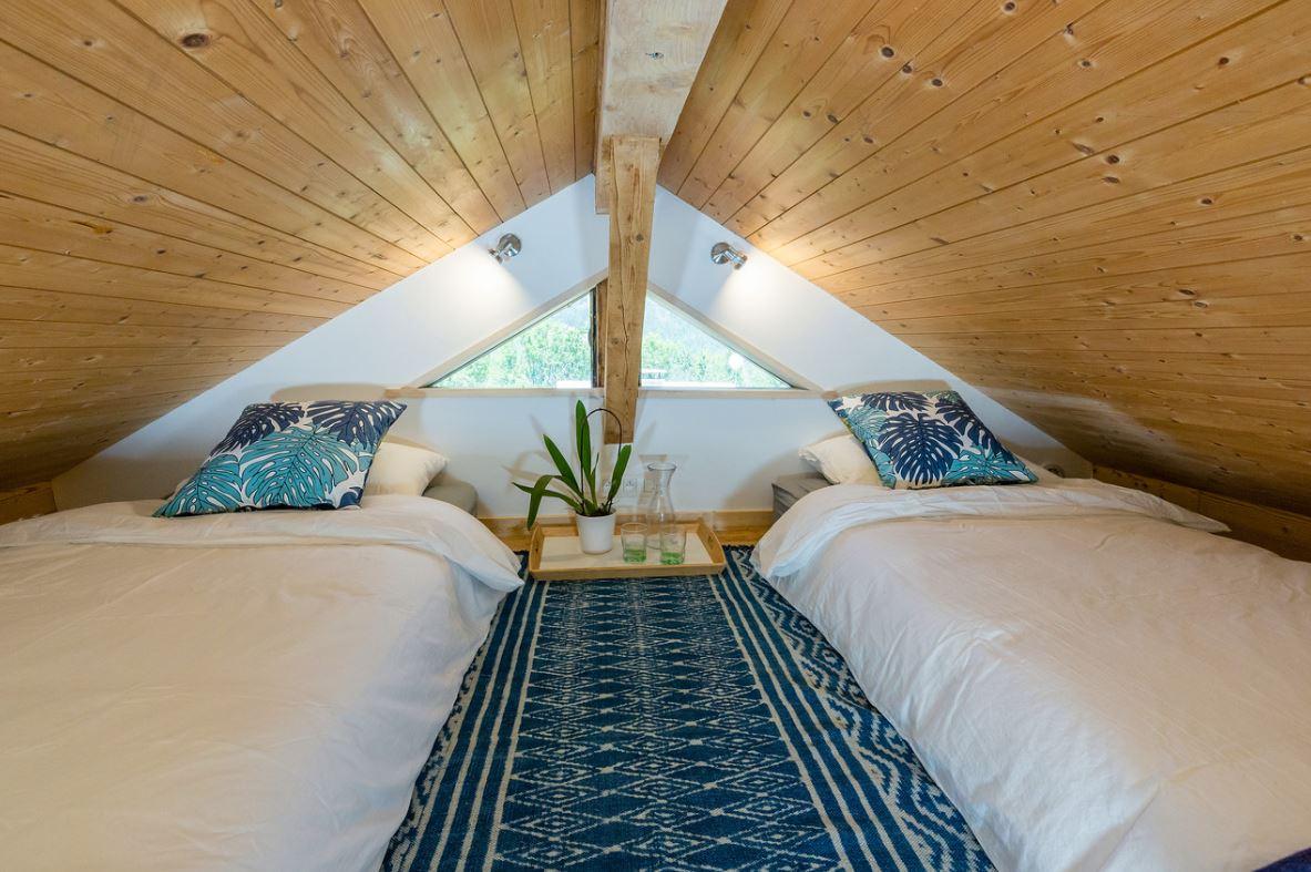 Petite Chalet Bedroom