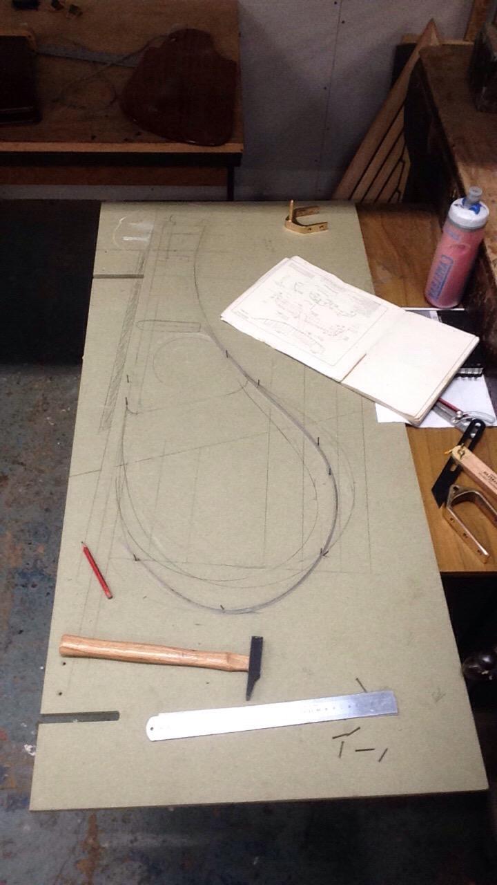Rudder and Tiller Scale design plans