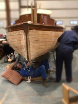 Welcome boat Caulking