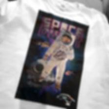 DTG imprimerie sur t-shirt blanc