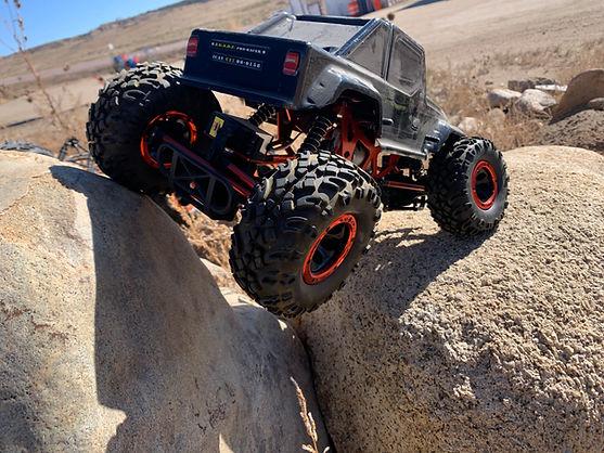 r/c rc rock crawler ram off-road park remote control car