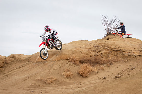 Honda KTM dirt bike ram off-road park colorado springs sandstone rocks enduro