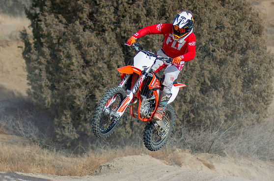 KTM motocross mx dirt bike jump ram off-road park shaun's shots