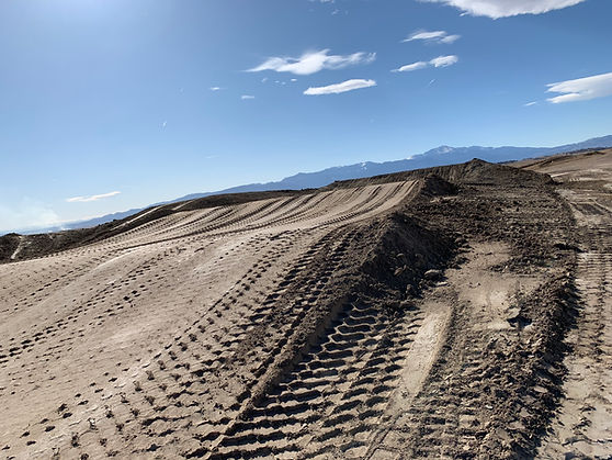 Triple jump motocross mx dirt bike track ram off-road park colorado springs