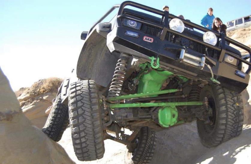 Obstacle: Mini Moab Canyon
