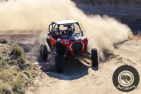 UTV side x side sxs Polaris RZR Turbo S Ray Mandel sand turn RAM Off-Road Park