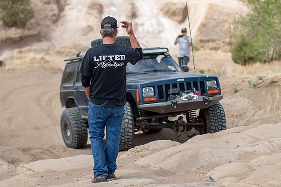 Lifted lifestyle jeep cherokee ram off-road park 4wheeling four wheeling 4x4 winch rocks colorado springs shaun's shots