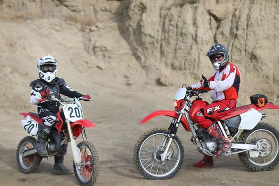 Honda family crf ram off-road park trails shaun's shots dirt bike colorado springs