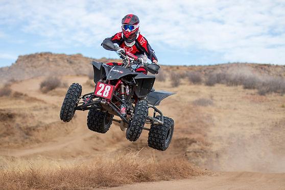 Brian Barsh Quad ATV 4wheeler 4-wheeler RAM off-road park jump quadcross yfz450 yamaha Shaun's Shots big air ram off-road park