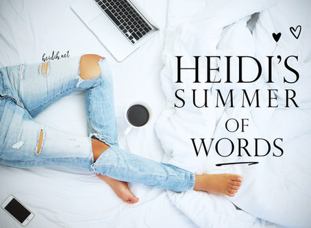 Summer of Words 2018