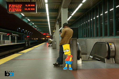 Bart in Oakland
