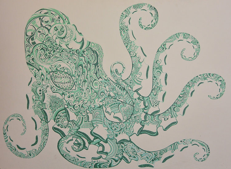 Octapi - Art Print