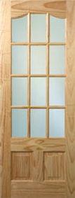 Pine Parklane 12 Panel Door
