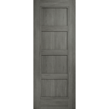 Daiken 4 panel solid grey door