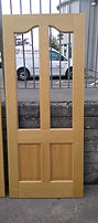 Oak Unglazed Door