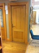 Edwardian Cottage Oak Door