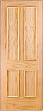 Doras pine 4 panel door