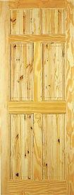 Berkley 6 Panel Pine Door