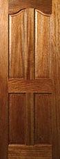 Mahogony Brandon 4 Panel Door