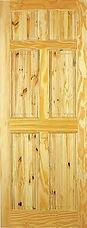 Berkley Pine 6 panel door