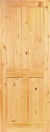 Milford 4 Panel Pine Door