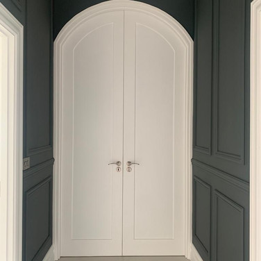 Bespoke Curved Internal Door