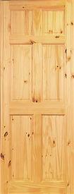 Stafford 6 Panel Pine Door