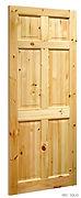 VR3 6 Panel Red Deal Door