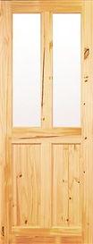 Milford 4 Panel Unglazed Pine Door
