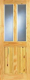 Ashford 4 Panel Glazed Pine Door